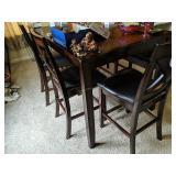 "Cherry Table 60x36x36"" , 4 Chairs, 46x14x24"""