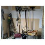 Planters, Yard Tools, Etc