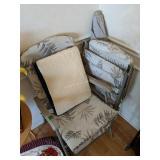 Folding Patio Chairs, Umbrella
