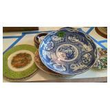 Platters, Collector Plates Etc. Imari, Johnson