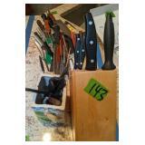 Kitchen Knives. J.a Henckel Etc