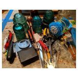 Glass Insulators, Tools