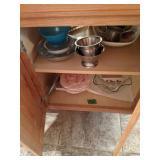 Contents Of Kitchen Island. Kitchen Wears,
