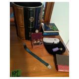 Tinket Box, Pins, Bookmarker, Decorative Trash
