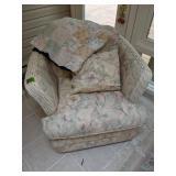 Braxton Wicker Chair, Quilt