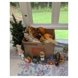 Christmas Tree, Fall Decorations, Nutcracker,