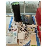 Electronic Items. Amazon Echo, Portable Dvd