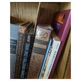 Shelf Lot Of Books. Good Magic, Home Herbal,