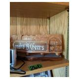Shelf Lot Magnavox Portable Radio, Alarm Clock,