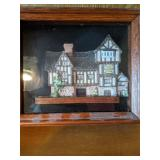 Shelf Lot David Winter Cottage Plaque, Decorative