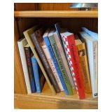 Shelf Lot Of Books. Grandmother