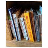 Shelf Lot Of Books. New Diabetic Cookbook, Feng