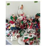 Christmas Anna Lee Dolls.