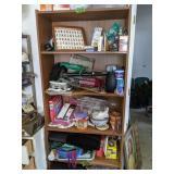 Bookshelf, Paper Shredder, Tear Massager, Bike