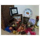 Decorative Items. Resin Fruit Figurines,