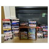 Storage Tote, Vhs Movies, Dvd Movies Etc