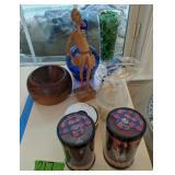 Cobalt Decanter, Harry Potter Figurines, Carved