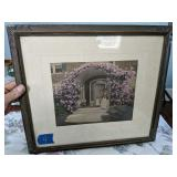 Signed Wallace Nutting Exterior Print