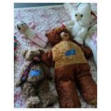 4 Teddy Bears