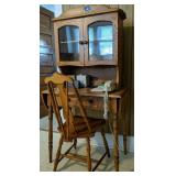 Drop Leaf Desk With Chair