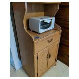 Microwave Cart, Toaster Oven