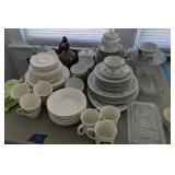 Dishes, Coffee Cup Saucers, Refrigerator Dishes