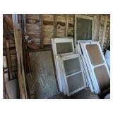 Wooden Doors, Windows, Barrels On Left Wall