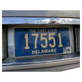 Live 5-digit Delaware License Plate Tag 17551