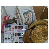 Brass Duck Decoy, Makeup, Brass Decorative