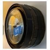 Carrington Quartz Barrel Clock, Lighthouse Print