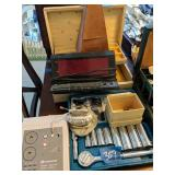 Socket Set, Metronome, Jewelry Box, Lighter Etc