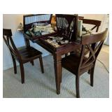 Oak Kitchen Table With Four Chairs