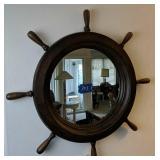 Shipwheel Mirror