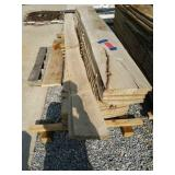 Pallet Of Rough Cut Lumber Various Sizes