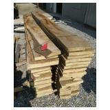 Pallet Of Rough Cut Lumber