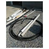 Pvc Pipe, Various Sizes, Tubing Etc