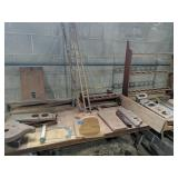 Miscellaneous Shelving, Boat Parts Etc