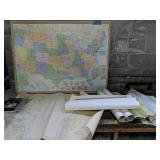 Us Map, Chesapeake Bay Waterway Wolf Trap To