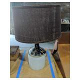 Stoneware Jug Lamp