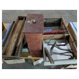 Coca-cola Crate, Wood Trays, Hooks, Children