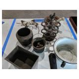 Cast Iron Spice Rack, Smelting Pots, Safety