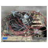 Pallet Of Dual Lever Boat Controls, Cabling Etc