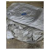 Pallet With Large Tarp