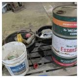 16 Gallon Essentialube Can, Oil Changing Pans