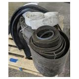 Pallet Of Rubber Strips