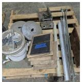 Steel Plates, Chain, Weights Etc