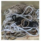 Pallet Of Loose Rope And Cord