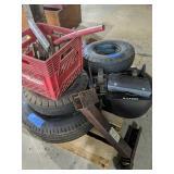 Trailer Tires, Rollers Etc