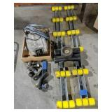 Electric Winch, Trailer Hitch, Rollers