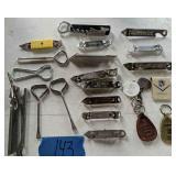 Advertising Items. Hammond Cadillac Keychains